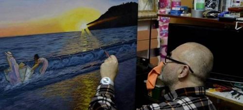 """El pintor Antonio González """"Gon"""" inaugura este sábado una muestra en la Galería Carmar de Almuñécar"""