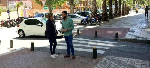 El PSOE critica la dejadez de la Avenida del Sol por parte del gobierno PPMásGaitán