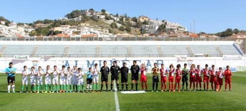 Granada comienza el Campeonato Andaluz Alevín con derrota frente Almería  (1-0)