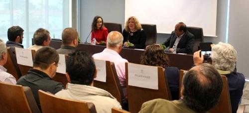 La alcaldesa inaugura la jornada sobre el cultivo de la Stevia en Motril
