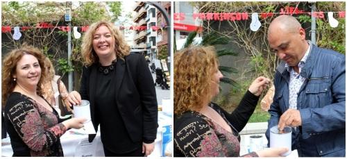 La alcaldesa muestra el apoyo del Ayuntamiento a la Asociación Párkinson Motril