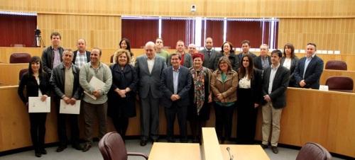 La Diputación acuerda más de 14.100 dentro de la concertación local para el bienio 2016-2017