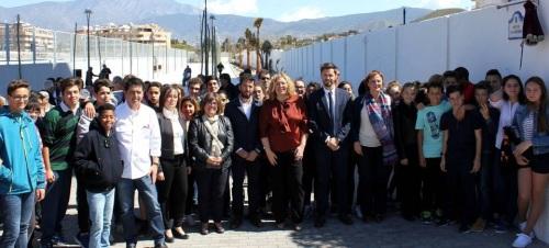La Junta destaca el objetivo sociolaboral del PFEA en la apertura de un nuevo acceso a la playa de Torrenueva