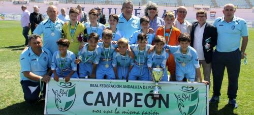 La Selección de Sevilla gana el Campeonato de Andalucía de Selecciones Territoriales Alevín8