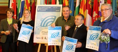 Los 'VI Juegos Escolares en el Medio Acuático' celebran sus semifinales con la participación de diez colegios
