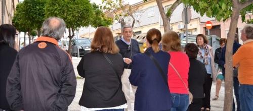 Manuel Domínguez desvela la historia del barrio de Las Angustias