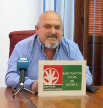 Manuel Estévez Moreno, concejal del PA en el Ayuntamiento de Motril