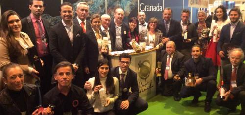 Más de 20 empresas de la marca Sabor Granada acuden con la Diputación al Salón de Gourmets de Madrid