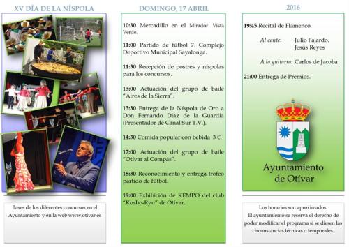 Otívar celebra el domingo el 'XIV Día de la Níspola' con numerosas actividades0