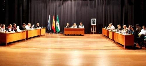 Pleno del Ayuntamiento de Almuñécar 28.04.2016