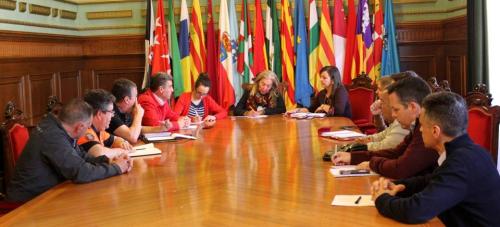Primera reunión de coordinación del dispositivo logístico del 'XI Festival Aéreo de Motril'
