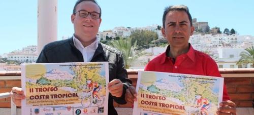 Salobreña, punto de partida y meta del 'II Trofeo Ciclista Costa Tropical'