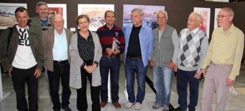 Una exposición de trabajo clausura el II Encuentro de Acuarelistas Eslovenos en Almuñécar