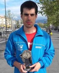 Víctor Prados se proclama subcampeón de Top Andaluz de Tercera División de Tenis de Mesa