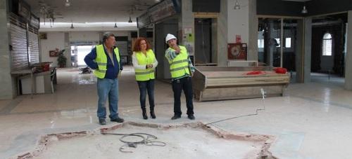 Ya han comenzado las obras de remodelación del Mercado Municipal de Salobreña