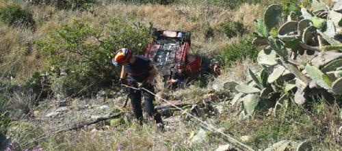 Accidente de tráfico en Almuñécar en la N-340