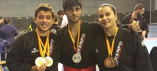 Buen papel de los competidores sexitanos en el Campeonato de España de Kenpo