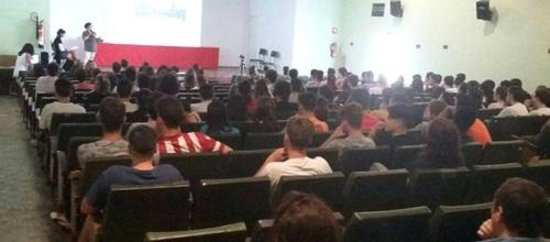 Charla contra la violencia de género de 'Damos la Cara' a alumnos de 4º de ESO 2