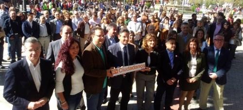 Ciudadanos ratifica su candidatura completa al Congreso de los Diputados y al Senado por Granada