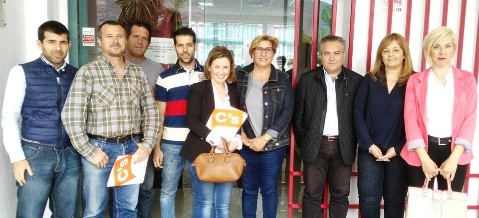 Ciudadanos se reúne con las ELAs de Torrenueva y Carchuna-Calahonda