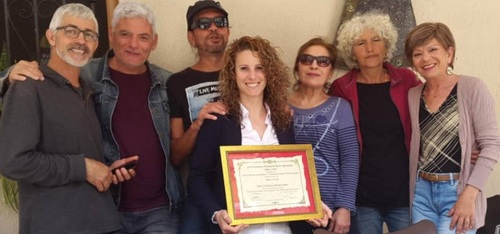 Cristina Montes gana el premio de 'Mejor Actriz' en el XLVI Certamen Nacional de Teatro de Albox