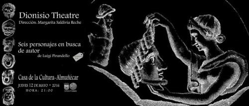 Dionisio Theatre pondrá en escena en Almuñécar 'Seis personajes en busca de autor', de Luigi Pirandello