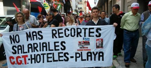 """""""Empleo con derechos y contra los recortes"""", lema de este Primero de Mayo en Motril"""