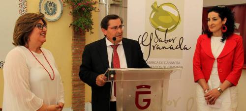 """""""Sabor Granada"""" exhibe sus productos en la Feria del Corpus"""