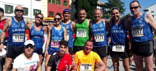 El Atletismo Sexitano en la 'Carrera de las Fuerzas Armadas. Las dos colinas'