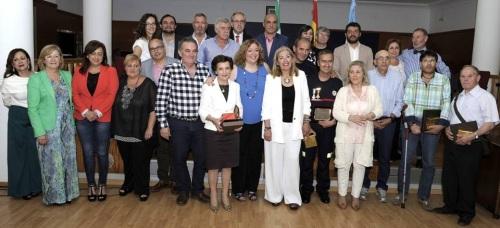 El Ayto. reconoce la dedicación y el servicio público de los funcionarios municipales con motivo de la festividad de Santa Rita