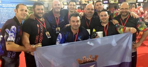 El 'Campeonato de España de Dardos' contó con una importante presencia de jugadores sexitanos