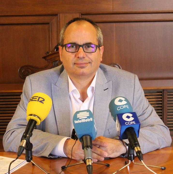 El concejal de Salud y Consumo de Motril, David Martín