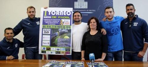 El 'I Torneo Benéfico de Pádel' recaudará fondos para la Asociación de Madres y Padres de Niños Oncológicos de Granada (AUPA)
