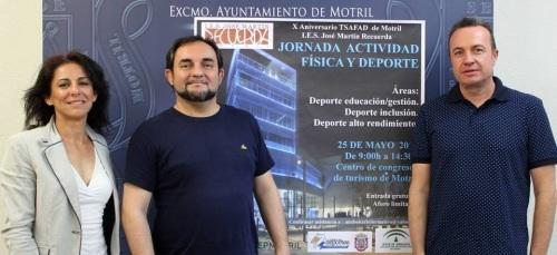 El IES José Martín Recuerda celebra una 'Jornada de Actividad Física y Deporte'