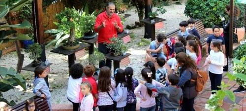 El Jardín Museo del Bonsái de Almuñécar se acerca a los escolares sexitanos con visitas guiadas