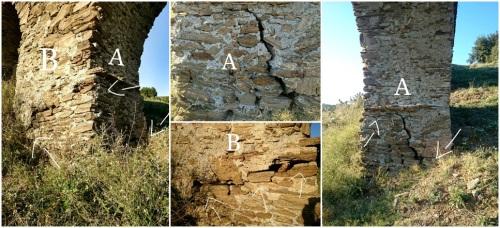 El PA exige una actuación de urgencia en el acueducto romano del Cercado de la Santa Cruz