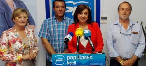 El PP de Motril pide mejoras en la playa de Torrenueva de cara al verano