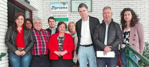 El PP visita Aprosmo y destaca su carácter inclusivo y su labor socializadora