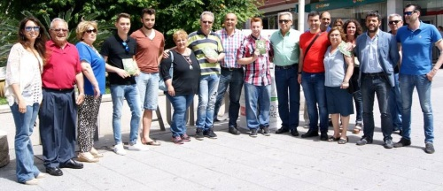 El PSOE presenta en Motril su campaña 'Un Sí por el cambio'