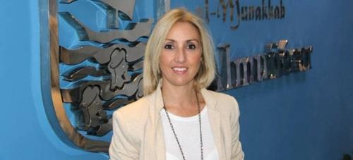 Eva Gaitán, concejal delegada de Participación Ciudadana, Nuevas Tecnologías y Organización Administrativa del Ayto. de Almuñécar