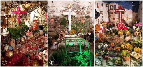 La Cruz 'La Cueva' gana el Certamen Municipal de Cruces de Mayo en Almuñécar