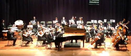 La Joven Orquesta del Sur de España puso el broche a la temporada con Beethoven y Shostakovich