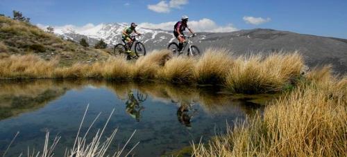 La ruta turística en bicicleta más alta de Europa llega a su quinto año con más de mil usuarios satisfechos