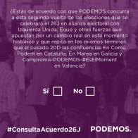 Los inscritos en Podemos ya pueden votar en Motril sobre el acuerdo con IU
