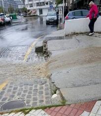Los pluviómetros del municipio sexitano acumulan en las últimas 48 horas entre 20 y 25 litros m2