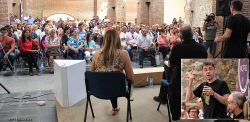 """Monedero presentó en Motril su libro """"Curso urgente de política para gente decente"""""""