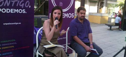 Ana Terrón dio cuenta del trabajo de Podemos en el Congreso