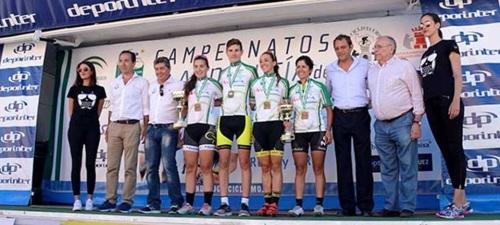 Carlos Rodríguez se coronó doblemente como Campeón de Andalucía en contrarreloj y Carretera