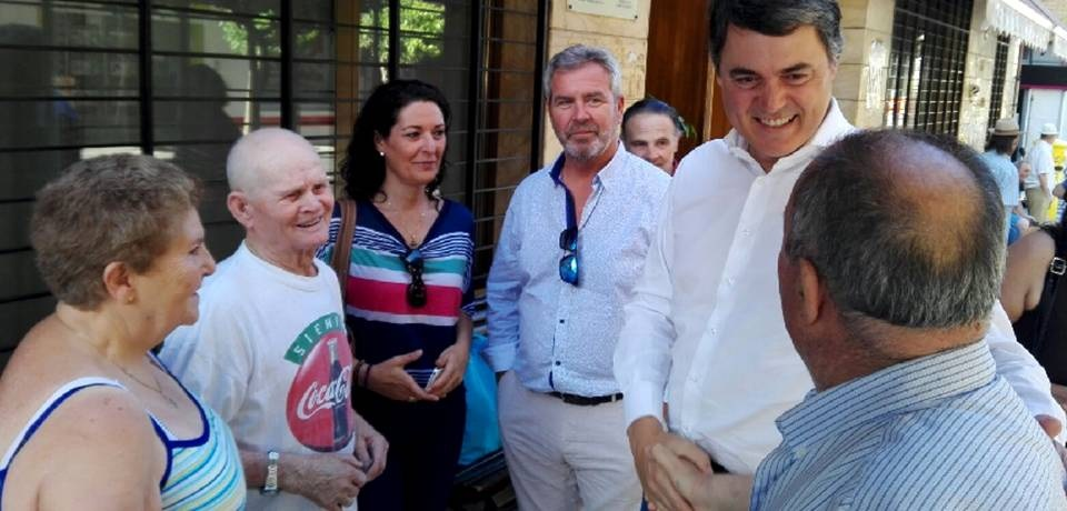 Carlos Rojas dice que con el PP las pensiones no peligran y subirán en la próxima legislatura