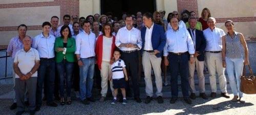 Carlos Rojas pide el voto para el PP 'para que gane la sensatez, el equilibrio y la moderación'